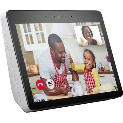 Echo Show (2nd Gen) - Smart Speaker with Alexa and Built-In Smart Home Hub in Sandstone