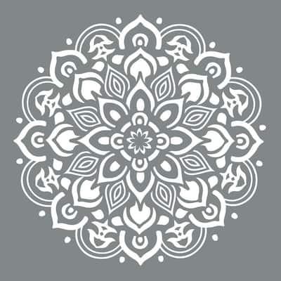 Americana Decor 10 in. x 10 in. Mandala Stencil