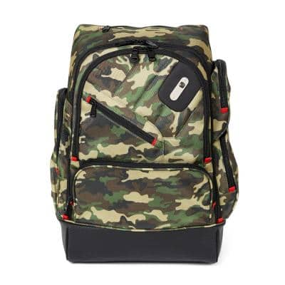 Refugee 19.5 in. Camo Laptop Backpack and Holds a 15 in. Laptop