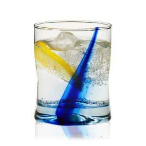 Blue Ribbon Impressions 8-Piece Rocks Glass Set