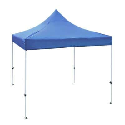 10 ft. x 10 ft. Blue Gazebo Tent