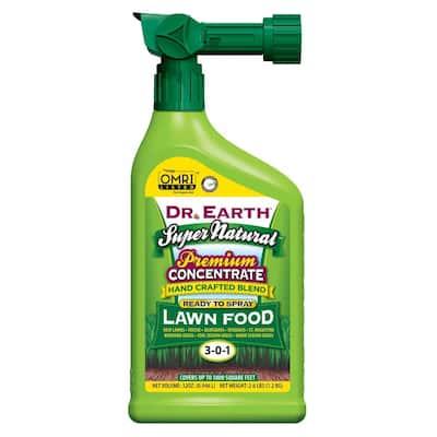 32 oz. Super Natural Ready-to-Spray Hose End Liquid Lawn Fertilizer