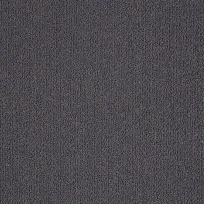 8 in. x 8 in. Berber Carpet Sample - Soma Lake - Color Azure