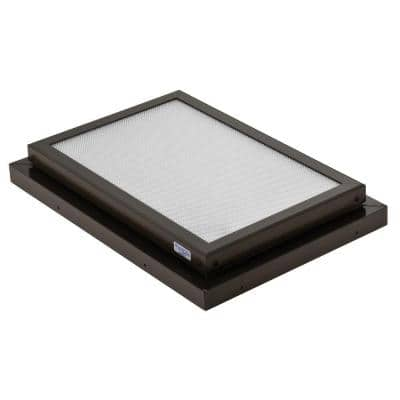 Prismatic 2 ft. x 3 ft. Fixed Curb-Mounted Flat Skylight