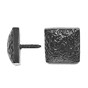 8.5 in. Black Antique Colonial Door Studs (10-Pack)