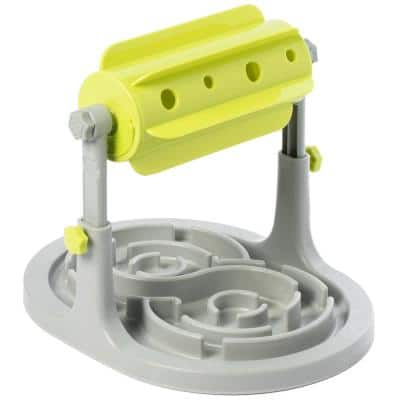 Brain Stimulation Pet IQ Feeder Puzzle Maze Toy Slow Dispensing with Adjustable Height
