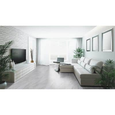 Kolasus White 12 in. x 24 in. Matte Porcelain Floor and Wall Tile (2 sq. ft.)