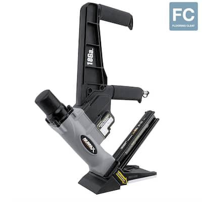 1-3/4 in. 18-Gauge L-Cleat Dual Handle Flooring Nailer