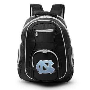 NCAA UNC Tar Heels 19 in. Black Trim Color Laptop Backpack