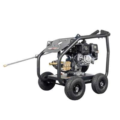 Super Pro Roll-Cage 4000 PSI at 3.5 GPM HONDA GX270 Cold Water Gas Pressure Washer