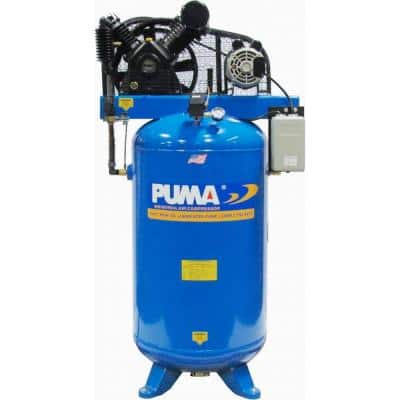 80 Gal. 6.5 HP Electric 2 Stage with Magnetic Starter Air Compressor