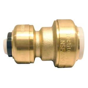 1/2 in. IPS x 1/2 in. CTS Brass Push-to-Connect Conversion Coupling
