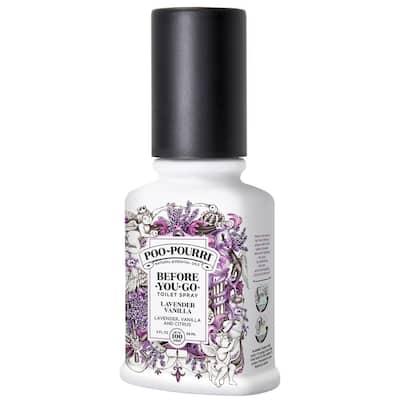 Before-You-Go 2 oz. Lavender Vanilla Toilet Spray (2-Pack)