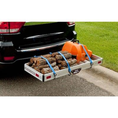 500 lbs. Capacity Aluminum Hitch Cargo Carrier