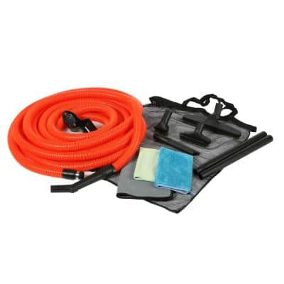 1-1/4 in. Premium Garage Attachment Kit with 50 ft. Hose for Central Vacuums
