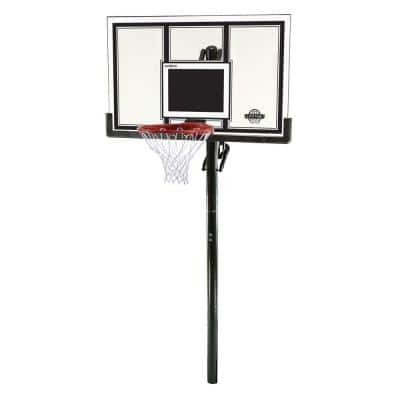 54 in. Shatter Guard Power Lift In-Ground Basketball System