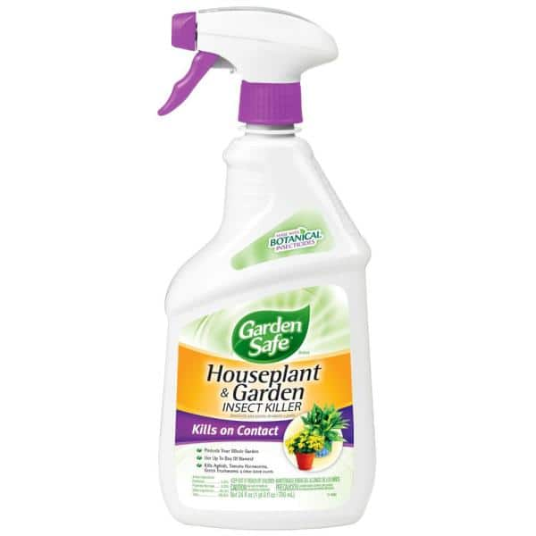 Garden Safe 24 Fl Oz Ready To Use Houseplant And Garden Insect Killer Hg 80422 The Home Depot