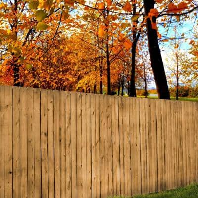 5/8 in. x 5.5 in. x 6 ft. Color Pro Treated Red Pine Fence Picket