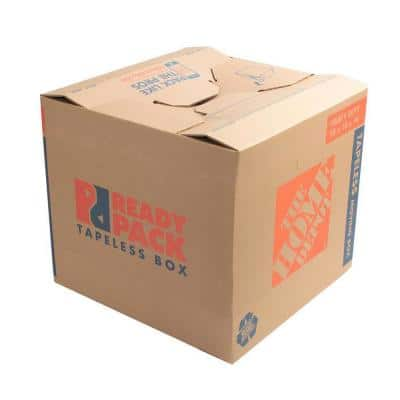 Heavy-Duty Ready Pack Medium Moving Box with Handles (22 in. L x 16 in. W x 15 in. D)