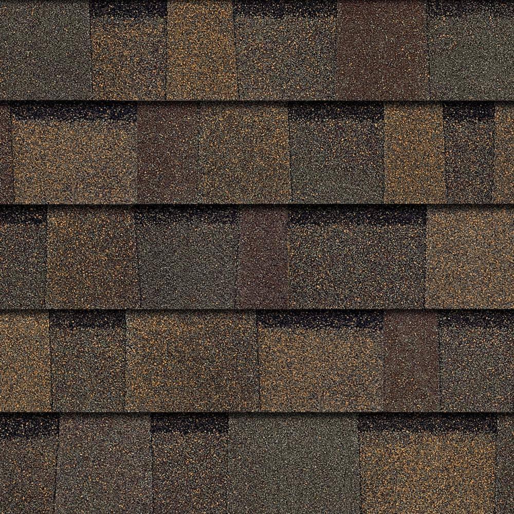 Owens Corning Trudefinition Duration Teak Algae Resistant Laminate Architectural Roofing Shingles 32 8 Sq Ft Per Bundle Td43 The Home Depot
