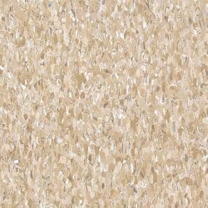 Imperial Texture VCT 12 in. x 12 in. x 3/32 in. Cottage Tan Standard Excelon Vinyl Tile (45 sq. ft. / case)