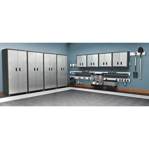 Gladiator Steel 1 Shelf Wall Mounted, Wall Mounted Storage Cabinets Home Depot