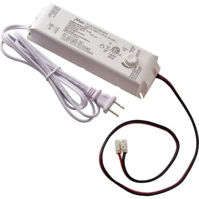 60-Watt 12-Volt LED Lighting Power Supply with Dimmer
