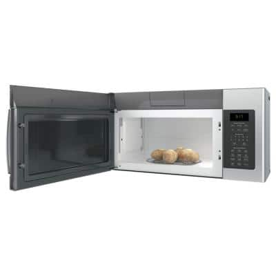 1.7 cu. ft. Over the Range Microwave in Fingerprint Resistant Stainless Steel with Sensor Cooking