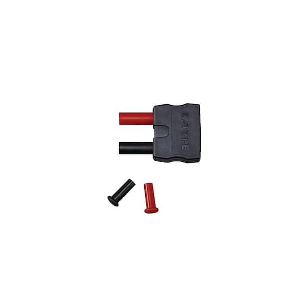 K-Type Thermocouple Adaptor from Mini K-Type to Round Banana Plug Thermometer K1