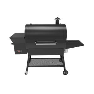 2000 sq. in. Surface Pellet Grill and Smoker in Black with Dual Meat Probes and Smart Digital Temperature Control