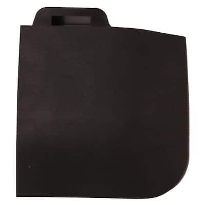 StayLock Corner Edging Black 2.6 in. x 2.6 in. x 0.56 in. Gym Plastic Corner Tile