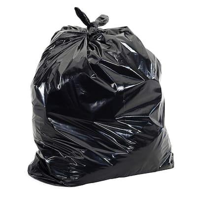 55 Gal. 2.0 mil Heavy-Duty Black Trash Bags (100-Count)
