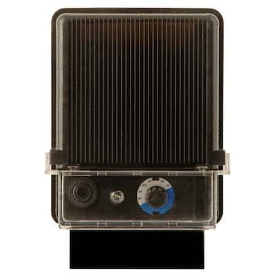 Power Pack Low-Voltage 120-Watt Black Outdoor Lighting Transformer with Photocell Light-Sensor and Raintight Case