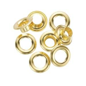 1/2 in. Refill Solid Brass Grommet Kit and Refill (12-Pack)