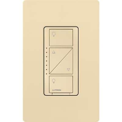 Caseta Wireless Smart Lighting Dimmer Switch for Wall & Ceiling Lights, Ivory