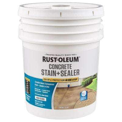 5 -gal. Clear High Gloss Concrete Water Repellent Sealer