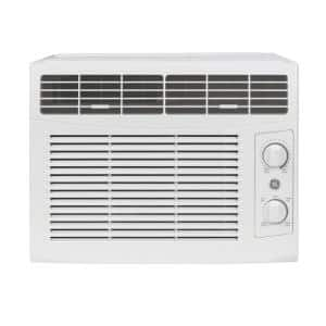 5,000 BTU 115-Volt Window  Air Conditioner for 150 sq. ft. Rooms in White