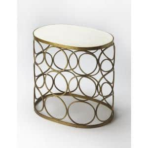 Butler Talulah Oval Marble Accent Table