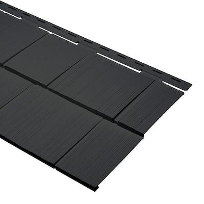 14 in. x 24 in. Iron Polypropylene Take Home Sample Cedar Dimensions Shingle Siding