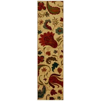 Tropical Acres Multi 2 ft. x 8 ft. Indoor Runner Rug