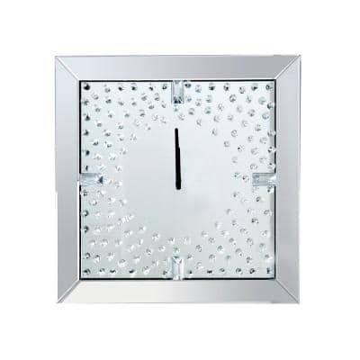 Daxten Silver Wall Clock