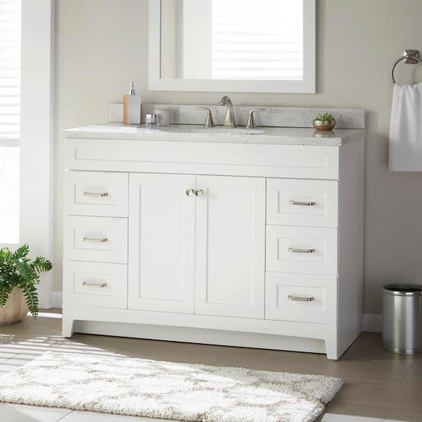 D Bathroom Vanity Cabinet, Bathroom White Cabinets