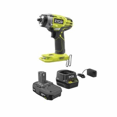 ONE+ 18V Cordless 3/8 in. Impact Wrench Kit with 1.5 Ah Battery and Charger