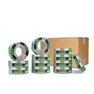 1.89 in. x 60 yd. 398 All-Weather HVAC Duct Tape in Silver Pro Pack (12-Pack)