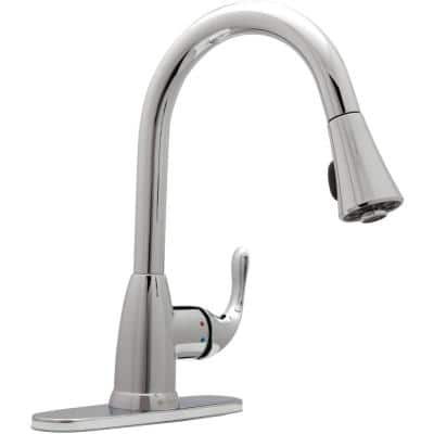 Chrome Kitchen Faucets The Home Depot