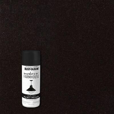11 oz. Metallic Black Spray Paint (6 Pack)