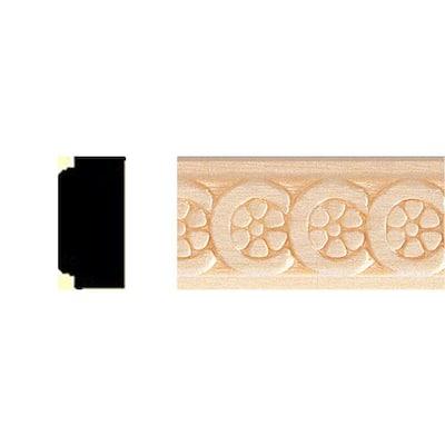 3/8 in. x 3/4 in. x 8 ft. Basswood Shelf Moulding