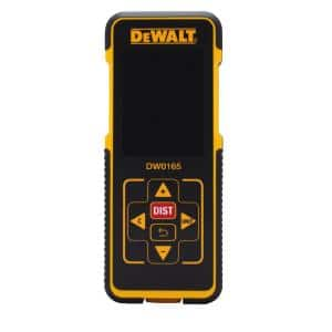 165 ft. Laser Distance Measurer with Color Screen