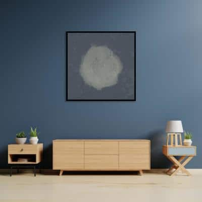 """Speck of Dust"" by Scott Medwetz Framed Canvas Wall Art"