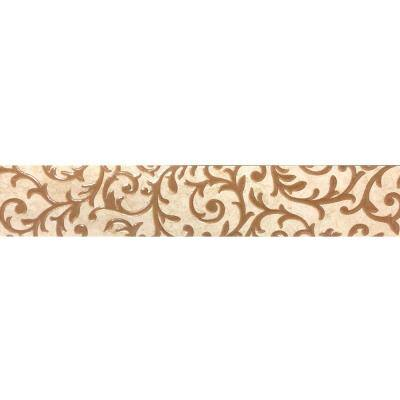 Charleston Beige 1.75 in. x 10 in. Porcelain Floor and Wall Tile (2.49 sq. ft. / case)